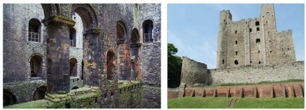 Rochester Castle Ruin