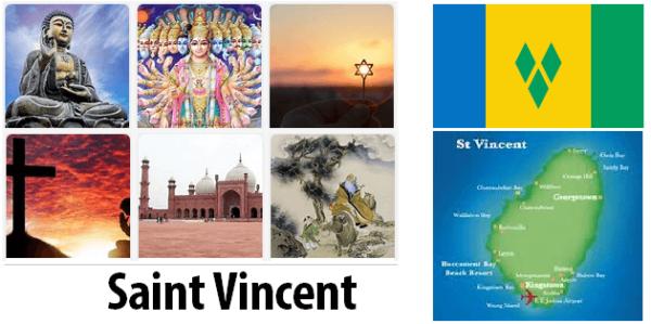Saint Vincent Religion